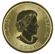 5 Dollars - Elizabeth II Polar Bear – obverse