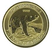 5 Dollars - Elizabeth II Polar Bear – reverse