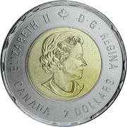 2 Dollars - Elizabeth II (Armistice; coloured) -  obverse