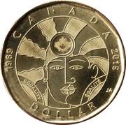 1 Dollar - Elizabeth II (Equality) -  reverse