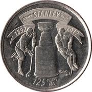 25 Cents - Elizabeth II (Stanley Cup) -  reverse