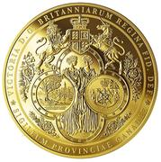 2500 Dollars - Elizabeth II (The Great Seal of the Province of Canada) -  reverse