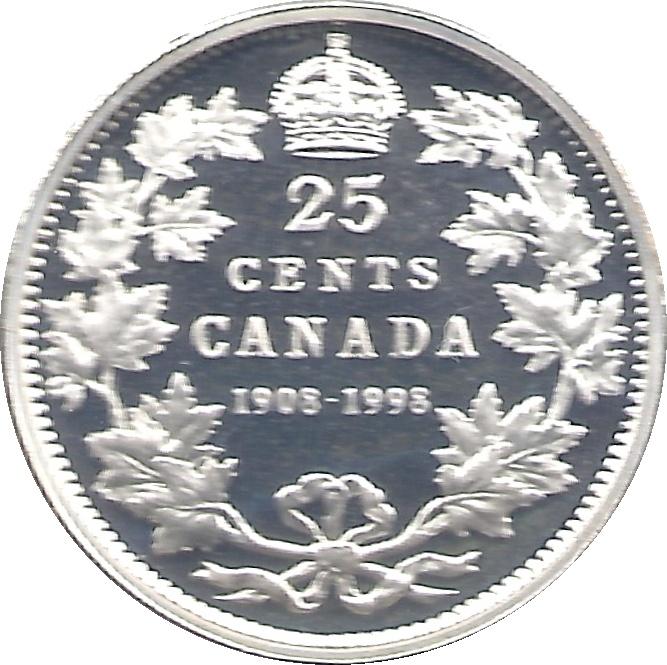 Canada 1998 W Winnipeg Mint Variety BU 25 Cent Coin Rare.