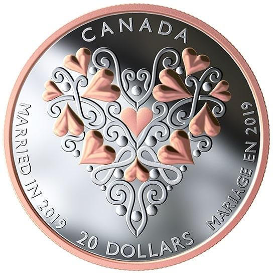 Canada 2019 20$ Eagle Feather Northwest Coast Art 1OZ Pure Silver Proof Coin