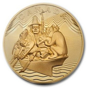 100 000 Dollars - Elizabeth II (The Spirit of Haida Gwaii) -  reverse