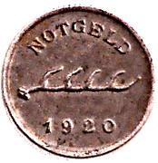 1 Pfennig - Cannstatt – obverse