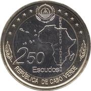250 Escudos  (50th Anniversary of OUA) -  obverse