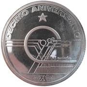10 Escudos (Independence; Silver) – reverse