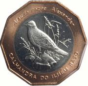 100 Escudos (Raso Lark; Bronze ring) -  reverse