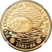 50 Escudos (FAO; Gold) – reverse