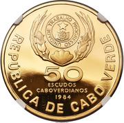 50 Escudos (FAO; Gold) – obverse