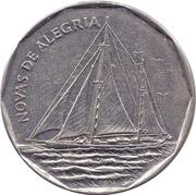 """20 Escudos (Sailing ship """"Novas de Alegria"""") – reverse"""