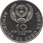 10 Escudos (Eduardo Mondlane) -  obverse