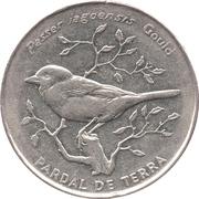 50 Escudos (Cape Verde Sparrow) – reverse