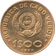 1 Escudo (FAO) – obverse