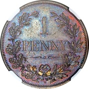 1 Penny (Cape of Good Hope; Bronze issue) – reverse