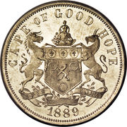 1 Penny (Cape of Good Hope; Copper-Nickel issue) – obverse