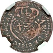 ⅛ Real - Carlos IV/Fernando VII (Royalist coinage) – obverse