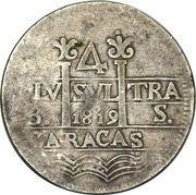 4 Reales - Fernando VII (Royalist coinage) – obverse