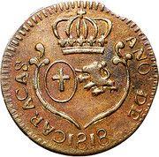 ¼ Real - Carlos IV/Fernando VII (Royalist coinage) – obverse