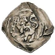1 Pfennig - Bernhard von Spanheim (Landstrass) -  reverse