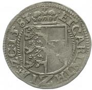 2 Kreuzer - Karl II Franz von Innerösterreich (Klagenfurt) -  obverse