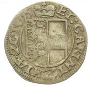 2 Kreuzer - Archiduke Karl II Franz (Klagenfurt) – reverse