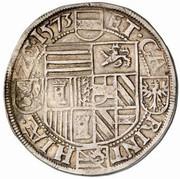 1 Guldenthaler - Archiduc Charles II Francois d'Autriche (Klagenfurt) – reverse