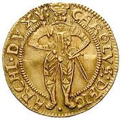 1 Ducat - Karl II Franz von Innerösterreich (Klagenfurt) -  obverse