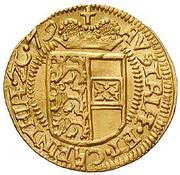 1 Ducat - Erzherzog Karl II Franz of Inner Austria (Klagenfurt) – reverse