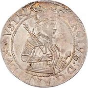 ½ Thaler - Erzherzog Karl II Franz Herzherzog von Innerösterreich (Klagenfurt) – obverse