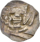 1 Pfennig - Ulrich II – reverse