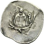 1 Pfennig - Bernhard von Spanheim -  obverse
