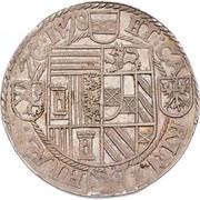 ½ Thaler - Karl II Franz von Innerösterreich (Klagenfurt) -  obverse