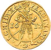 1 Ducat - Archiduke Ferdinand (Klagenfurt) -  obverse