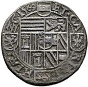 ½ Thaler - Karl II Franz von Innerösterreich (Klagenfurt) -  reverse