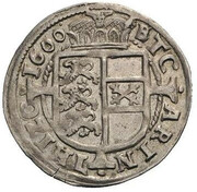 3 Kreuzer - Archduke Ferdinand (Klagenfurt) – reverse