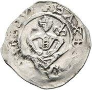 1 Pfennig - Bernhard von Spanheim (Landstrass) – obverse
