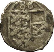 1 Pfennig - Karl II Franz von Innerösterreich (Klagenfurt) -  obverse