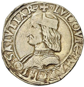 12 Soldi - Ludovico II – obverse