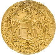 10 Scudi - Ludovico II and Margherita di Foix – reverse