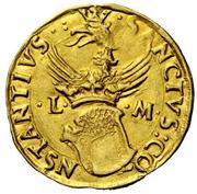 1 Ducato - Ludovico II – reverse