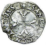 1 Soldino - Ludovico II – reverse