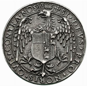1 Tallero - Ludovico II and Margherita di Foix – reverse
