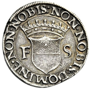1 Testone - Francesco I – reverse