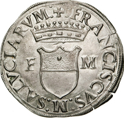 1 Cavallotto - Francesco I – obverse