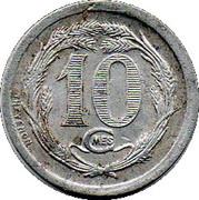 10 Centimes (Carpentras) – reverse