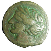 Zeugitane - Shekel ou unité de Carthage – obverse