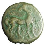 Zeugitane - Shekel ou unité de Carthage – reverse