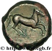 Unité - Tanit - Cheval au galop - 400-350 av. J.-C. – reverse